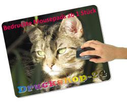 Bedruckte Mousepads von Druckshop-24.de
